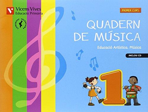 9788468218045: Quadern Musica 1 Valencia+cd - 9788468218045