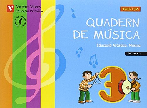 9788468218069: Quadern Musica 3 Valencia+cd - 9788468218069