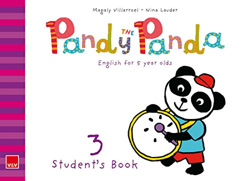 9788468218991: Pandy The Panda. Student's Book 3+ CD. English for 5 year-olds