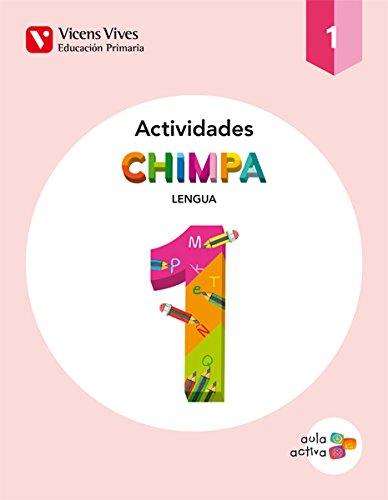 Cuaderno Chimpa. 1 Primaria Lengua. Aula Activa