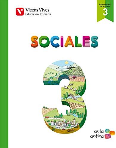 9788468227573: (MAD).(15).CIENCIAS SOCIALES 3º.PRIM.*MADRID* AULA ACTIVA