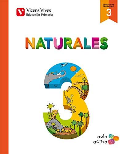 Ciencias naturales 3ºprimaria Madrid aula activa: Vv.Aa.