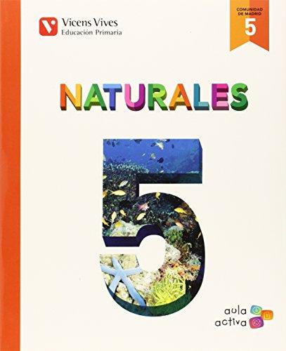 Ciencias naturales 5ºprimaria Madrid aula activa: Vv.Aa.