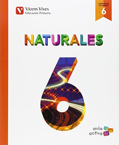 Ciencias naturales 6º.primaria. Madrid. Aula activa: Vv.Aa