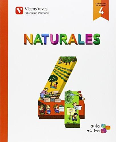 Ciencias naturales 4º.primaria. Madrid. Aula Activa: Vv.Aa