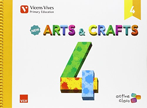 9788468229157: New Arts And Crafts 4 (active Class) - 9788468229157