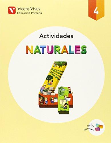 Cuaderno ciencias naturales 4ºprimaria. Aula activa: Vv.Aa