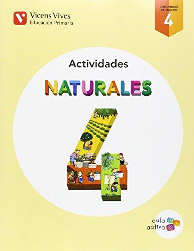 Cuaderno ciencias naturales 4ºprimaria. Aula activa. Madrid: Vv.Aa