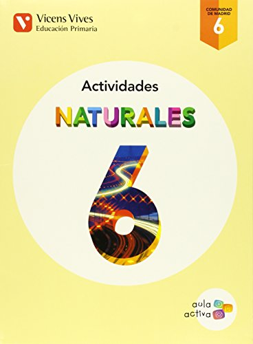 Cuaderno Ciencias naturales 6ºprimaria. Madrid. Aula activa: Vv.Aa