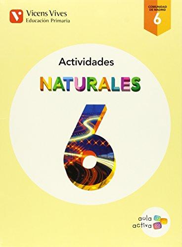 9788468230283: Naturales 6 Madrid Actividades (aula Activa) - 9788468230283