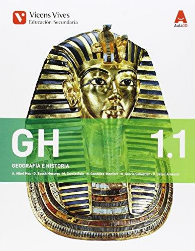 9788468230368: GH 1. Geografía E Historia. Libro 1 Y 2. Aula 3D - 9788468230368