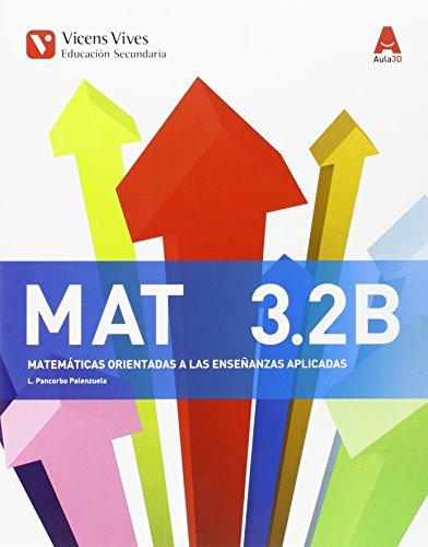 9788468230412: MAT 3 B TRIM (MATEMATICAS APLICADAS) AULA 3D