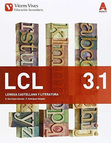 9788468230429: 3� E.S.O.-LENGUA C.Y LITERATURA 3 (2015) - AULA 3D