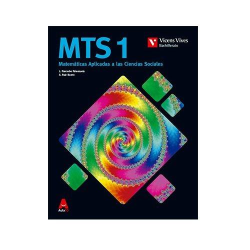 9788468230559: MTS 1 (MATEMATICAS C. SOCIALES BACH) AULA 3D: MTS 1. Matemáticas Aplicadas a las Ciencias Sociales: 000001 - 9788468230559