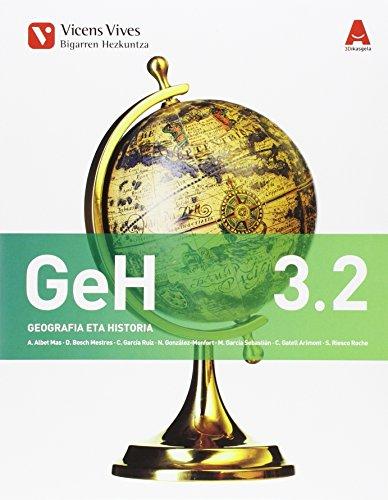 9788468233079: GEH 3.2 GEOGRAFIA ETA HISTORIA 3D IKASGELA: 000001 - 9788468233079