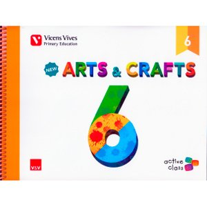 9788468233994: New Arts & Crafts 6 Andalucia (Active Class) - 9788468233994