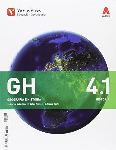 9788468236612: GH 4.1 y GH 4.2 (Geografía e Historia), primera edición (2016): 000001