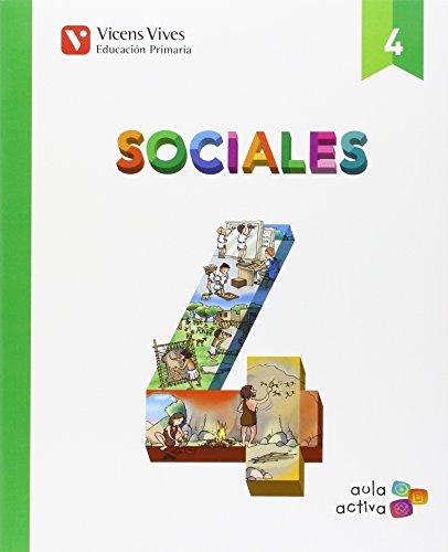 9788468237404: SOCIALES 4+ CASTILLA Y LEON SEPARATA (AULA ACTIVA): Sociales 4. L. Alumno Y Separata Castilla Y Leon. Aula Activa: 000002 - 9788468237404