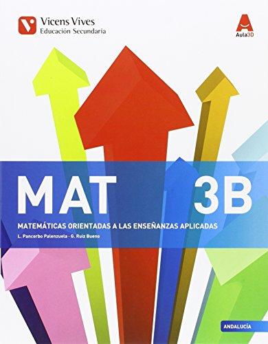 9788468239262: MAT 3 B ANDALUCIA (AULA 3D): 000001-9788468239262