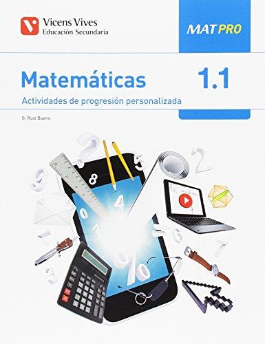 9788468243009: MAT PRO 1 (1.1-1.2-1.3) AULA 3D