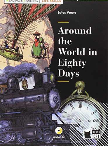 9788468250229: AROUND THE WORLD IN EIGHTY (FREE AUDIO) L. SKILLS (Black Cat. reading And Training)