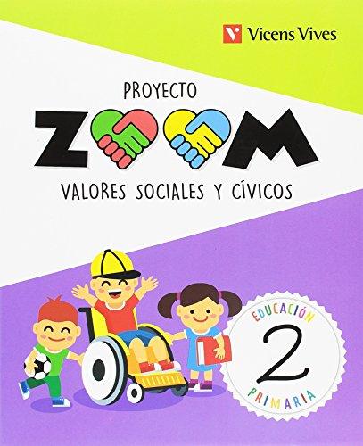 9788468254982: Valores Sociales y Cívicos 2 (Proyecto Zoom)