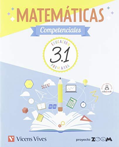 9788468256016: Matemáticas Competenciales 3. Libro 1, 2 y 3 (P. Zoom)