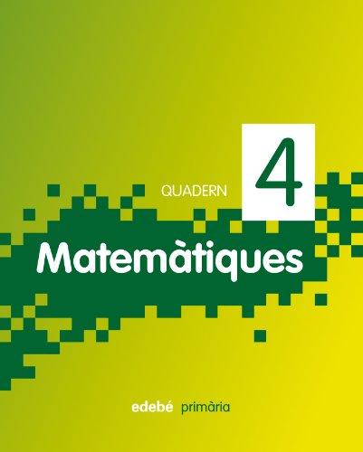 9788468300931: Quadern Matemàtiques 4, 2º Primària
