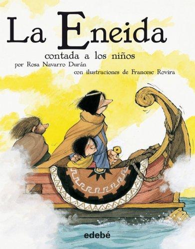 9788468302201: La Eneida contada a los niños (versión escolar en rústica) (Biblioteca Escolar Clásicos contados a los niños)