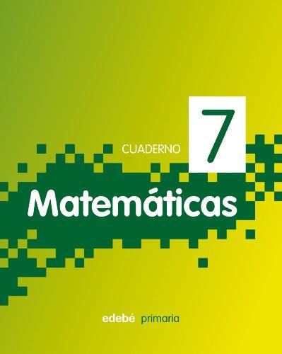 9788468304380: CUADERNO 7. MATEMÁTICAS 3 - 9788468304380