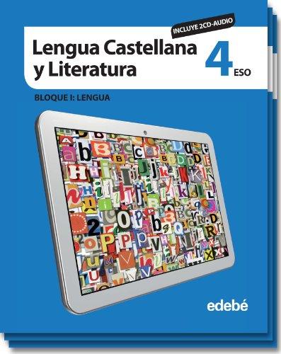 9788468305554: LENGUA CASTELLANA Y LITERATURA 4 (INCLUYE CD AUDIO)