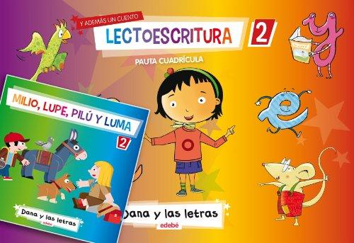 9788468306605: LECTOESCRITURA CUADERNO 2 PAUTA CUADRICULA + 1 CUENTO - 9788468306605