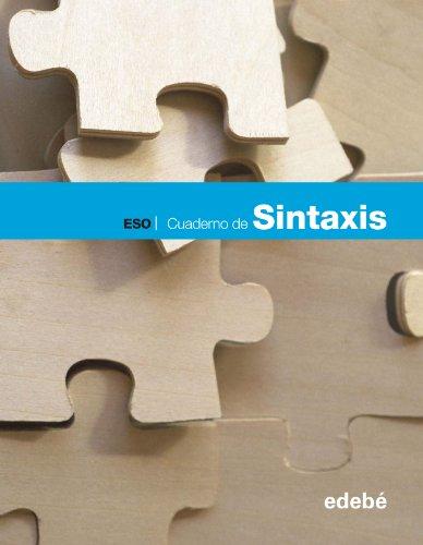 9788468307374: CUADERNO DE SINTAXIS - 9788468307374