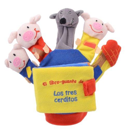 9788468309736: LOS 3 CERDITOS Y EL LOBO (libro guante con títeres de dedo) (Libros para bebés)