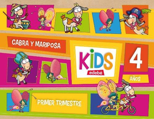 9788468309774: KIDS EDEBE 4 AÑOS PRIMER TRIMESTRE - 9788468309774