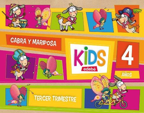 9788468309798: KIDS EDEBE 4 AÑOS TERCER TRIMESTRE - 9788468309798