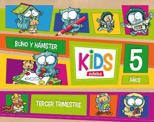 9788468309828: KIDS EDEBE 5 AÑOS TERCER TRIMESTRE - 9788468309828