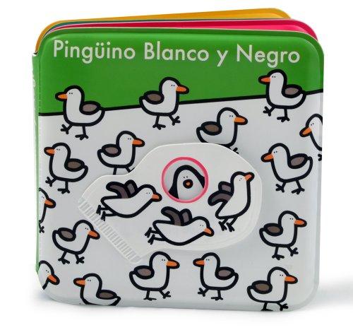 9788468311418: Pingüino Blanco Y Negro (Libro Baño)