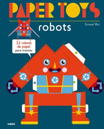 9788468311463: Paper Toys. Robots