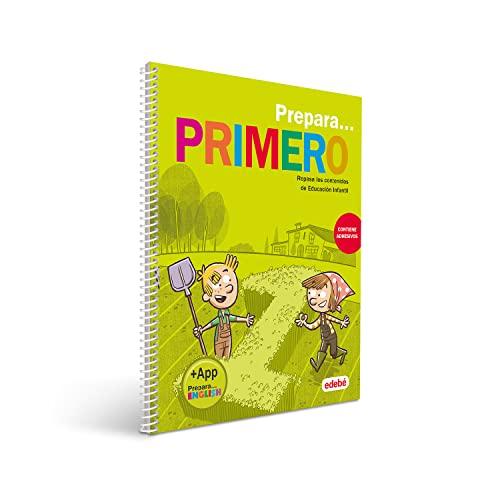 9788468341293: PREPARA PRIMERO: Repasa los contenidos de Educación Infantil (contiene adhesivos)