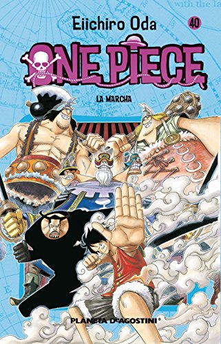 9788468471914: One Piece nº 40: La marcha (Manga Shonen)