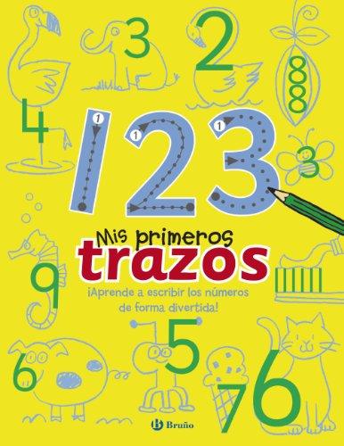 9788469600191: 1 2 3 (Mis Primeros Trazos) (Spanish Edition)