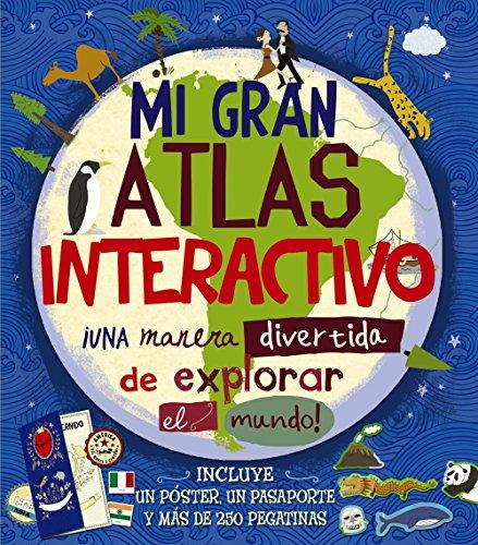 9788469600634: Mi gran atlas interactivo (Castellano - A PARTIR DE 8 AÑOS - LIBROS DIDÁCTICOS - Otros libros)