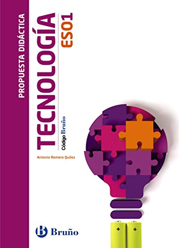 9788469609880: Código Bruño Tecnología 1 ESO Propuesta didáctica