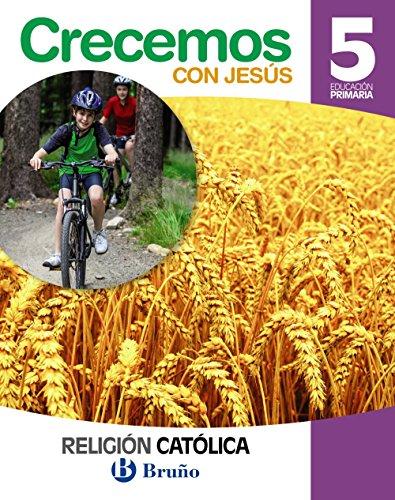 9788469610817: Religión católica Crecemos con Jesús 5 Primaria Andalucía - 9788469610817