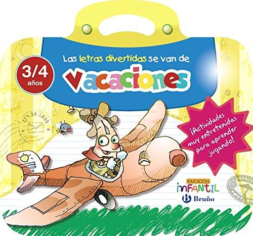 9788469613528: Las letras divertidas se van de vacaciones 3 años (Castellano - Material Complementario - Vacaciones Educación Infantil) - 9788469613528
