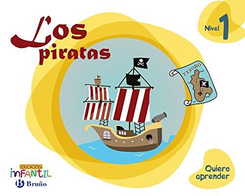 9788469613719: Quiero aprender Nivel 1 Los piratas - 9788469613719