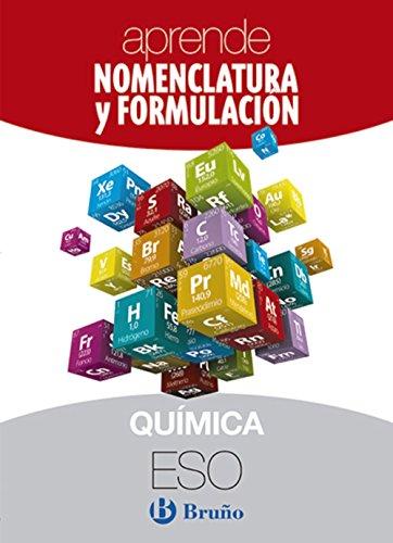 9788469617038: Aprende Nomenclatura y Formulación Química ESO