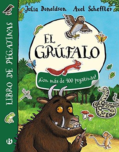 9788469621462: El grúfalo. Libro de pegatinas (Castellano - A Partir De 3 Años - Personajes - El Grúfalo)