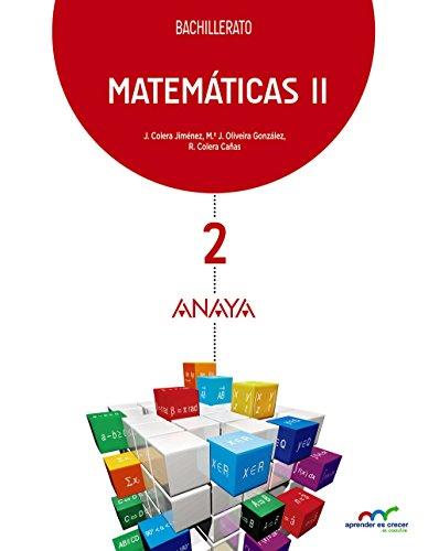 9788469812778: Matemáticas II. (Aprender es crecer en conexión) - 9788469812778